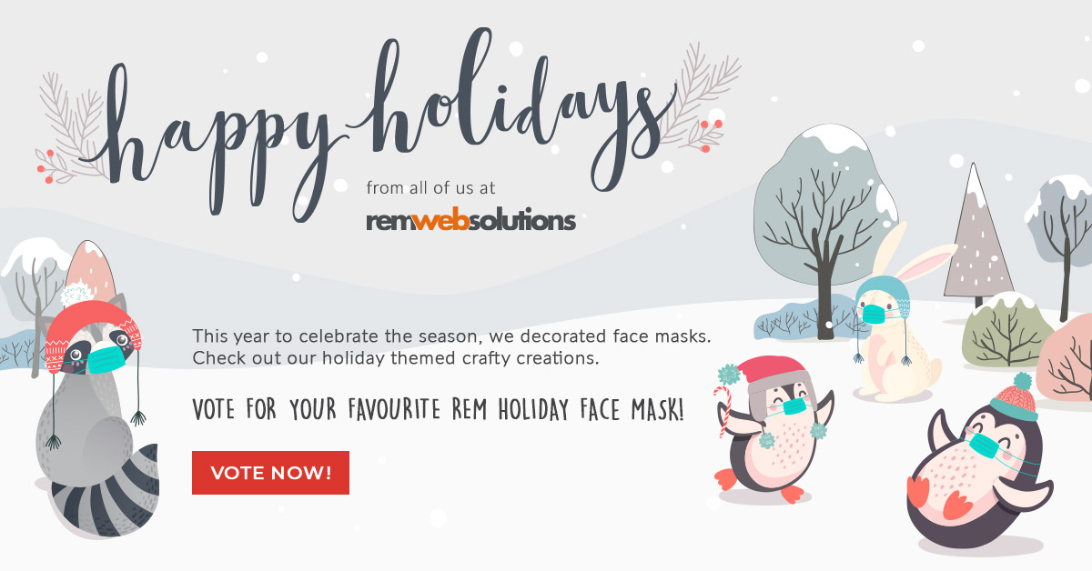 Happy Holidays from all of us at REM